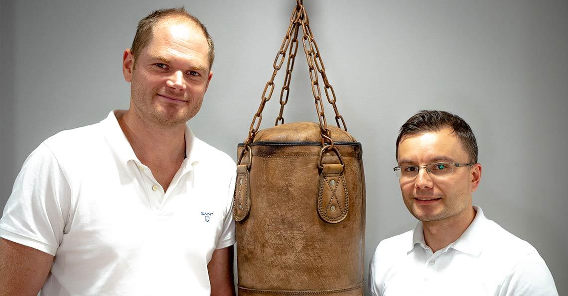 die Ärzte Rebhan und Yastrebov